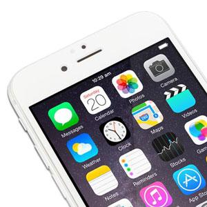 Moshi iVisor iPhone 6 Plus Glass Screen Protector - White
