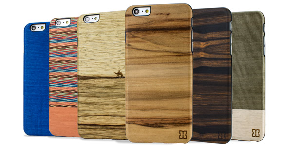 Man&Wood iPhone 6 Plus Wooden Case - Einstein