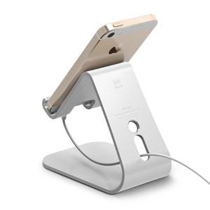 Elago M2 Aluminium Universal Smartphone Stand - Silver