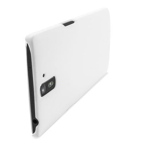 Encase ToughGuard OnePlus One Rubberised Case - White
