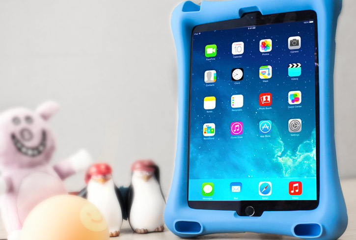 Olixar Big Softy Child-Friendly iPad 2017 / Air 2 Silicone Case - Blue