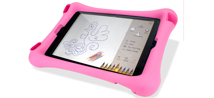Encase Big Softy Child-Friendly iPad Air 2 Silicone Case - Pink