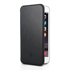 Twelve South SurfacePad iPhone 6 Luxury Leather Case - Black