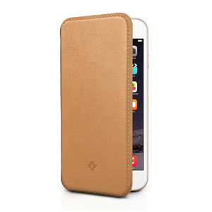 Twelve South SurfacePad iPhone 6 Luxury Leather Case - Camel