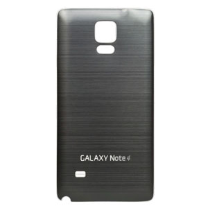 Metal Samsung Galaxy Note 4 Replacement Back Cover - Gunmetal