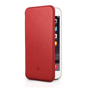 Twelve South SurfacePad iPhone 6 Plus Luxury Leather Case - Red