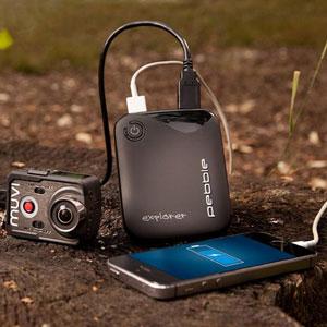 Veho Pebble Explorer 8,400mAh Portable Charger - Black