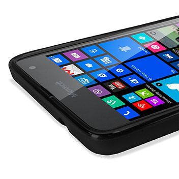 Encase FlexiShield Microsoft Lumia 535 Case - Black