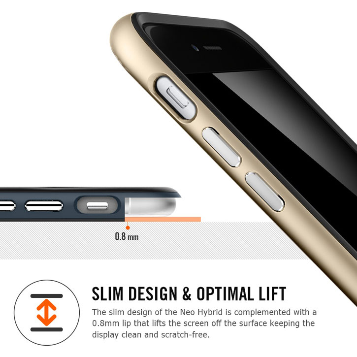 Spigen Neo Hybrid iPhone 6 Plus Case - Infinity White