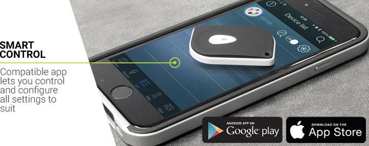Dispositif Bluetooth Porte clé / Alarme / télécommande selfie Olixar