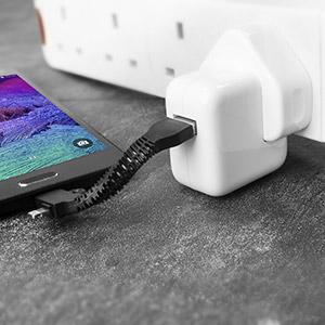 Porte-Clés Charge et Synchronisation Echo Micro USB et Lightning