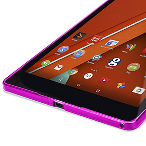 Encase FlexiShield Nexus 9 Gel Case - Hot Pink