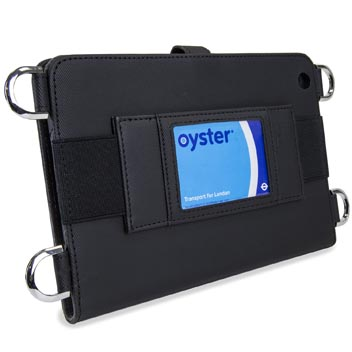 Olixar Premium iPad Mini Wallet Case with Shoulder Strap - Black