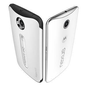 Rearth Ringke MAX Nexus 6 Heavy Duty Case - White