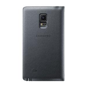 Official Samsung Galaxy S5 Flip Wallet Cover - Black