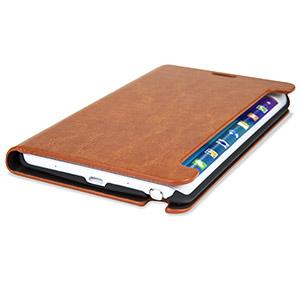 Olixar Samsung Galaxy Note Edge Wallet Case - Brown