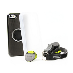 Kisomo ViDA iPhone 6 Plus Bike Mount and Case - Black