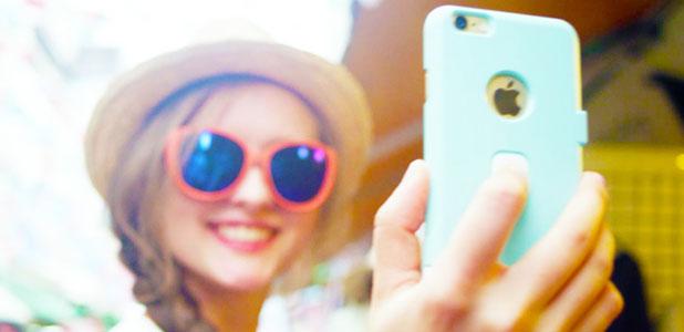 Kisomo iSelf iPhone 6 Selfie Case - White