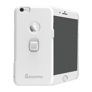 Kisomo iSelf iPhone 6S Plus / 6 Plus Selfie Case - White
