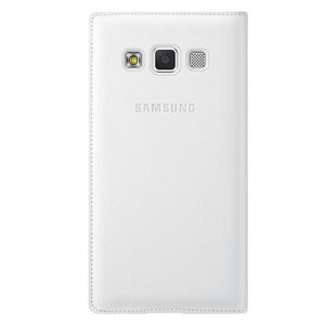 Official Samsung Galaxy A3 2015 Flip Cover - White