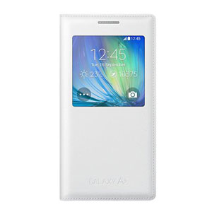 Official Samsung Galaxy A5 S View Cover Case - White