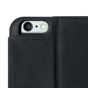 Housse iPhone 6 Twelve South BookBook Cuir - Noire