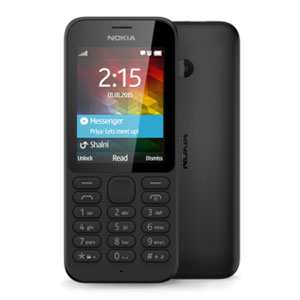 SIM Free Nokia 215 - Black