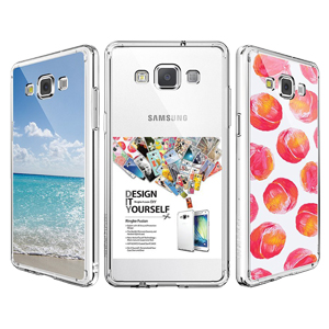 Rearth Ringke Fusion Samsung Galaxy A3 2015 Case - Crystal Clear