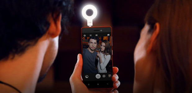 Lenovo Vibe Xtension Android Slefie Flash