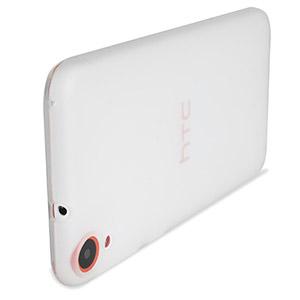 Encase FlexiShield HTC Desire 820 Case - Frost White