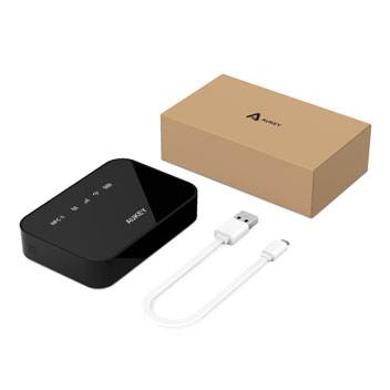 Aukey 3-in-1 Wireless Travel Router & 5,200mAh Power Bank