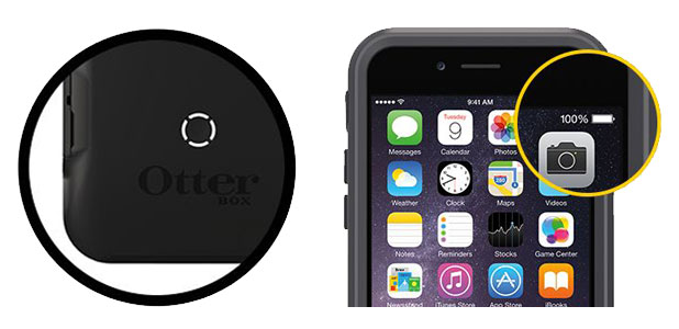 OtterBox Resurgence iPhone 6 Power Case - Glacier