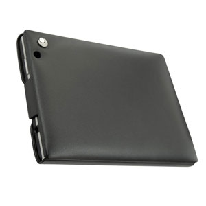 Noreve Tradition BlackBerry Passport Leather Case - Black