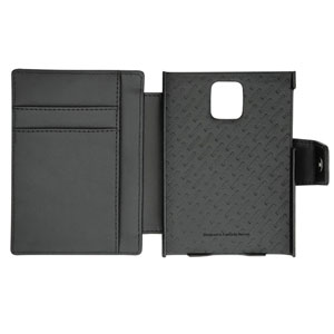 Noreve Tradition B BlackBerry Passport Leather Case - Black