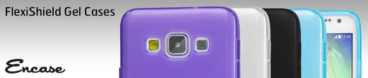 Encase FlexiShield Samsung Galaxy A3 Case - Light Blue