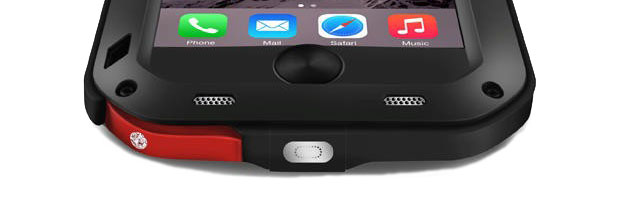 Love Mei Powerful iPhone 6S / 6 Protective Case - Black