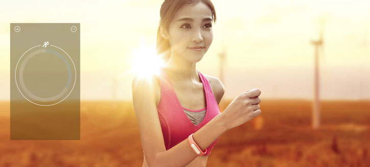 Xiaomi Mi Band Fitness Monitor and Sleep Tracker