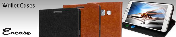 Encase Leather-Style Samsung Galaxy A7 Wallet Case - Black
