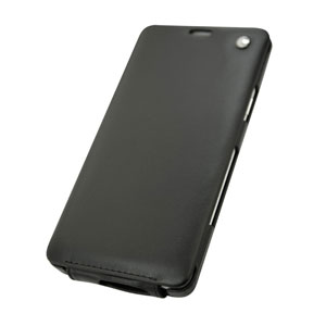 Noreve Tradition Samsung Galaxy A7 Leather Case - Black