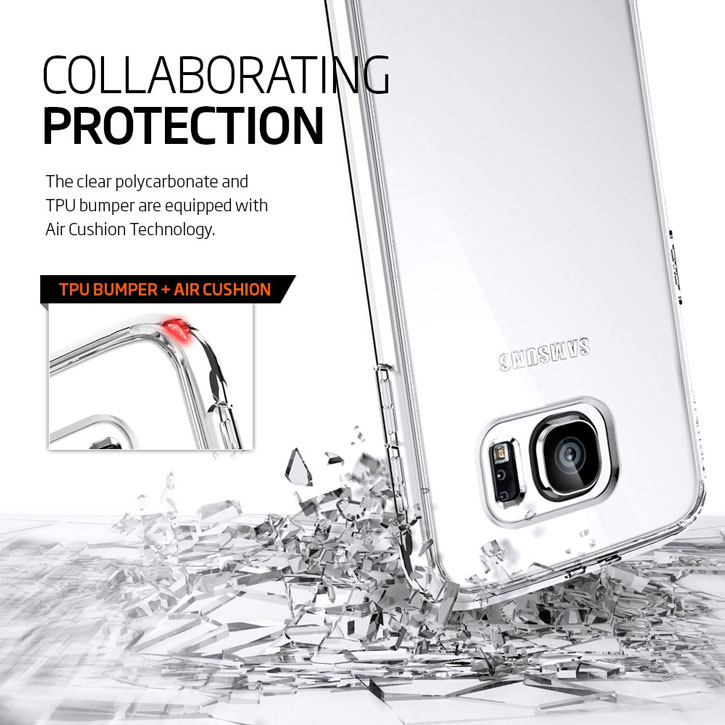 Spigen Ultra Hybrid Samsung Galaxy S6 Case - Gunmetal
