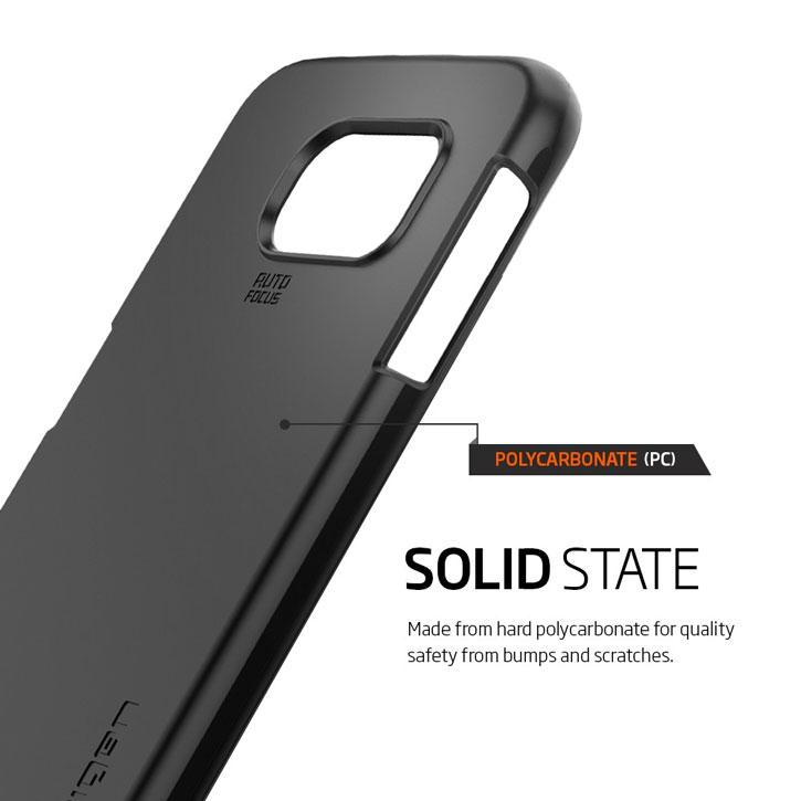 Spigen Thin Fit Samsung Galaxy S6 Shell Case - Liquid Crystal