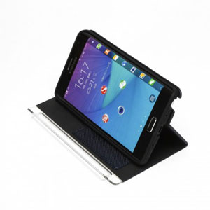 Zenus Metallic Diary Samsung Galaxy Note Edge Case - Navy Blue