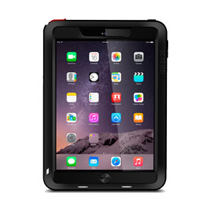 Love Mei Powerful Apple iPad Air 2 Protective Case - Black