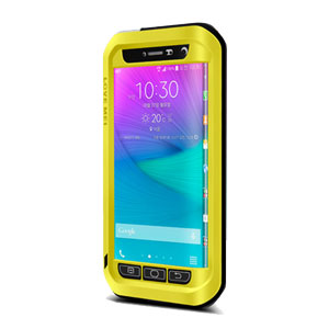 official photos a0e38 9c34c Love Mei Powerful Samsung Galaxy Note Edge Protective Case - Yellow