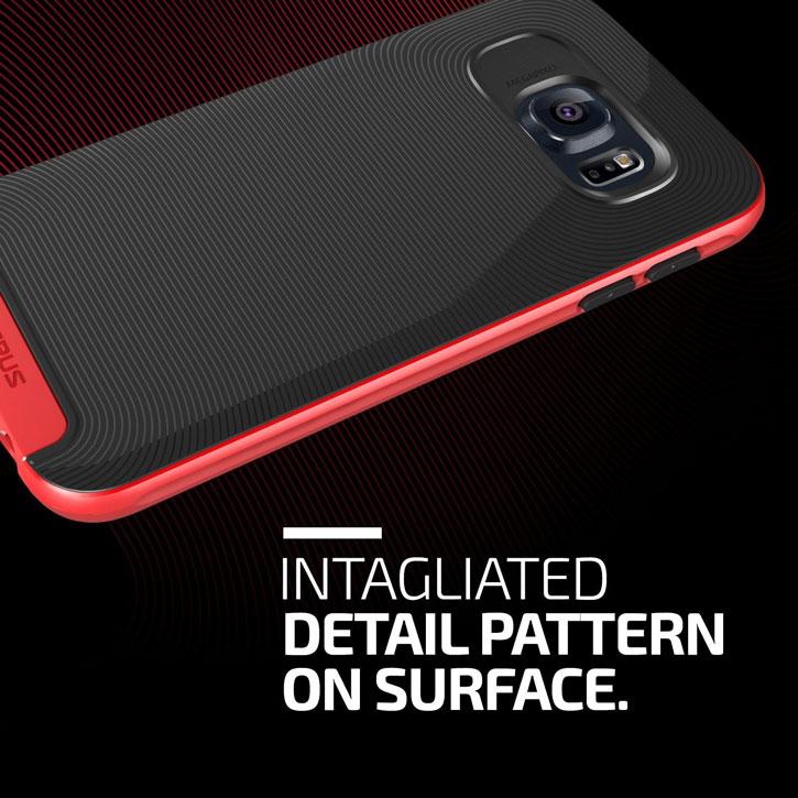 Verus Crucial Bumper Samsung Galaxy S6 Case - Red