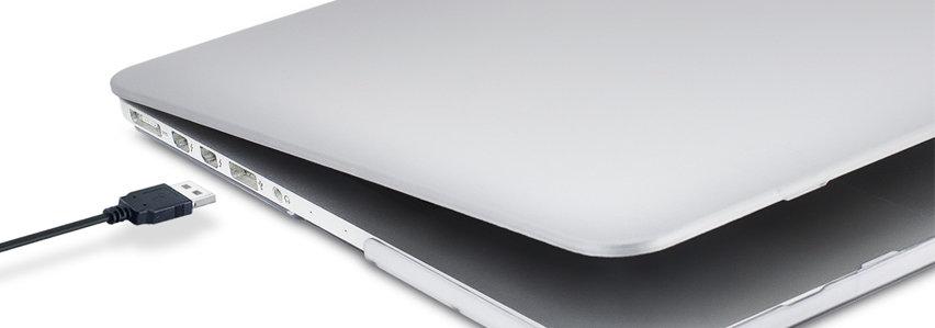 Olixar ToughGuard MacBook Pro Retina 13 inch Case (2012-2015) - Clear