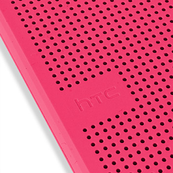 Official HTC One M9 Dot View 2 Premium Case - Candy Floss