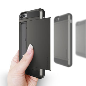 Verus Damda Slide iPhone 6 Case - Dark Silver