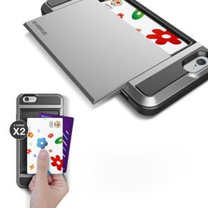 Verus Damda Slide iPhone 6 Case - Satin Silver