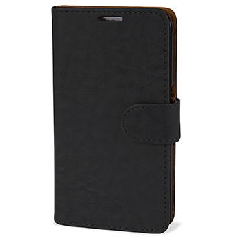 Olixar Leather-Style Samsung Galaxy S6 Wallet Case - Black